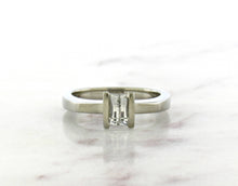 Load image into Gallery viewer, Contemporary Concept Excalibur Cut Diamond Engagement Ring
