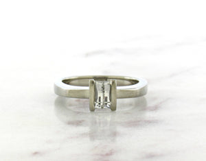 Contemporary Concept Excalibur Cut Diamond Engagement Ring