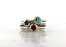 Load image into Gallery viewer, Family Concept Garnet Ring