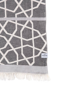 Tofino Towel Co. The Saratoga Towel - Black Grey