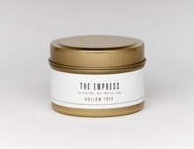 "Load image into Gallery viewer, ""The Empress Travel Size"" by Hollow Tree Candles"