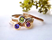 Load image into Gallery viewer, Family Concept Peridot Ring
