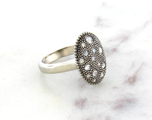 Modern Vintage Concept Starlight Diamond Ring
