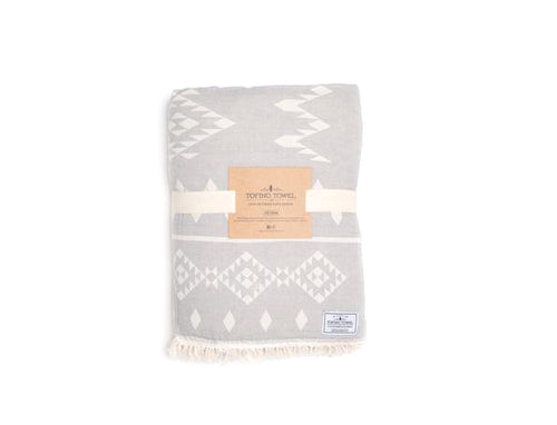 Tofino Towel The Costal Throw Pewter