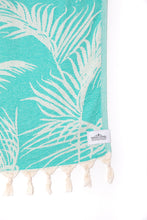 Load image into Gallery viewer, Tofino Towel Co. The Serenity Towel - Sea Green
