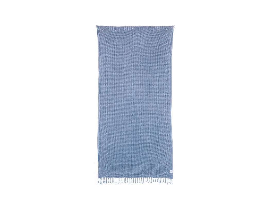 Tofino Towel Co. The Shore Washed Waffle- Grey