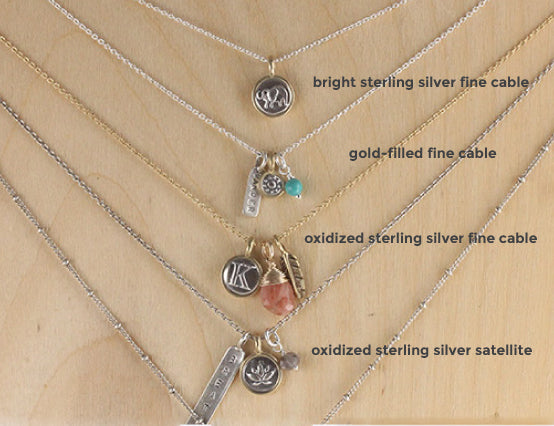 Marmalade Designs Sterling Silver and Gold Filled Chains