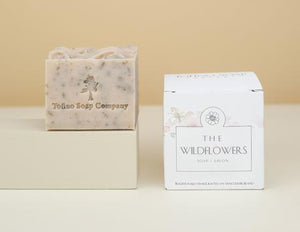 Tofino Soap Company The Wildflowers Natural Soap Cube