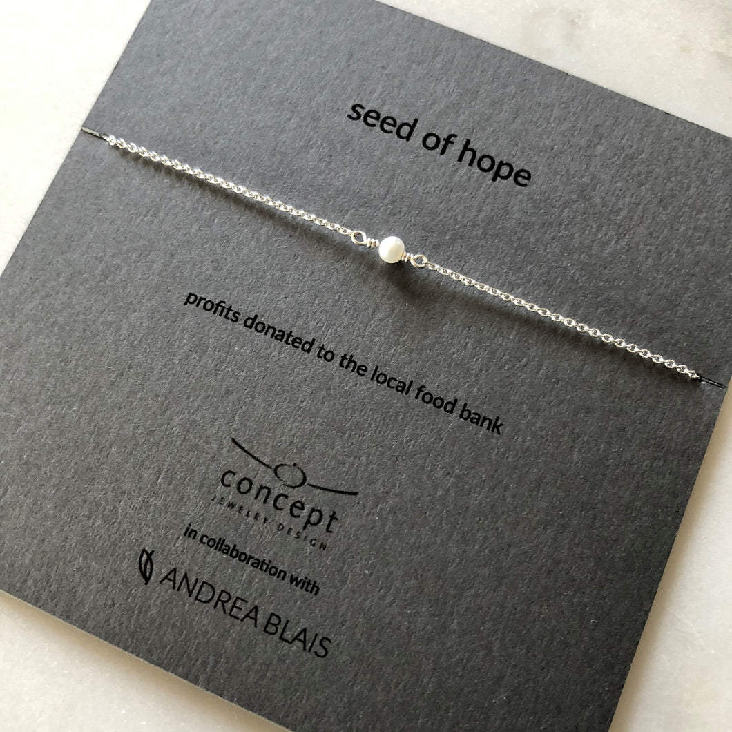 Seed Of Hope Charity Necklace