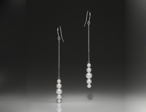 Andrea Blais Small Surge Drop Earrings