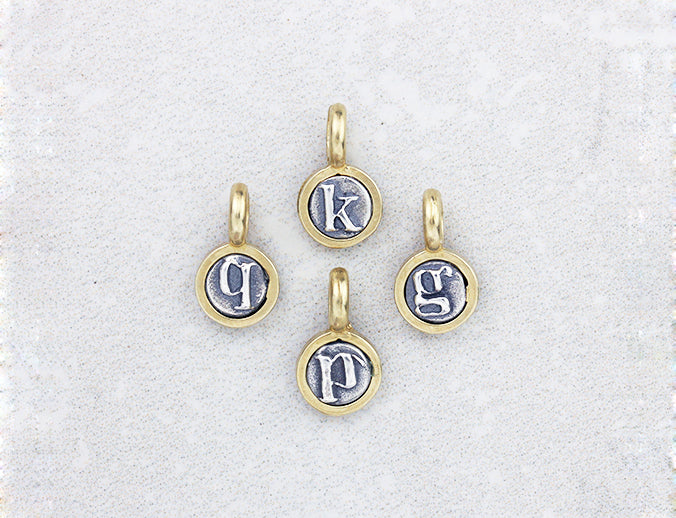 Marmalade Designs Silver & Bronze Teeny Letter Charms