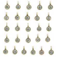 Load image into Gallery viewer, Marmalade Designs Silver & Bronze Teeny Letter Charms