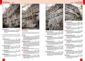 Red River Gorge Rock Climbing: Best of the Red. Sport Climbing Crags of the Red River Gorge, Kentucky. Fruit Wall
