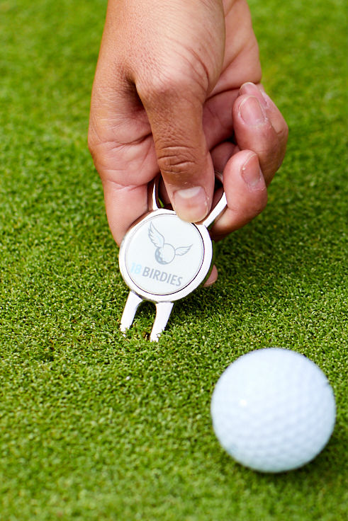 Divot Repair Tool with Bottle Opener