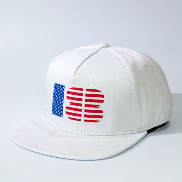 18Birdies Red, White and Blue Stars and Stripes Hat