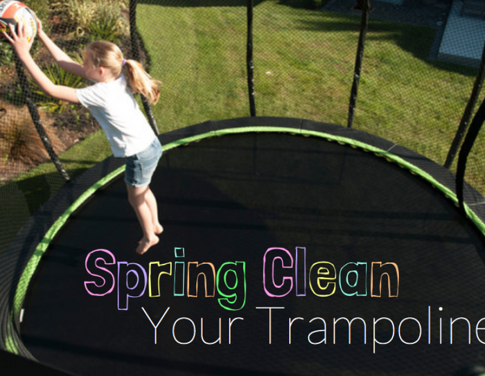 Cleaning you Trampoline