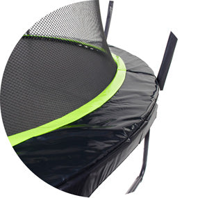 Trampoline safety net