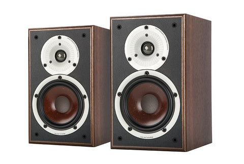 Dali Spektor 2 Bookshelf Speaker Pair in Walnut Colour