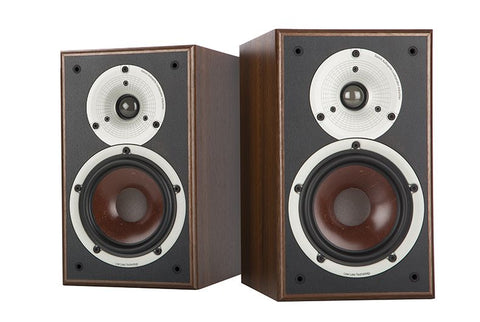 Dali Spektor 2 Bookshelf Speaker Pair in Walnut Finish
