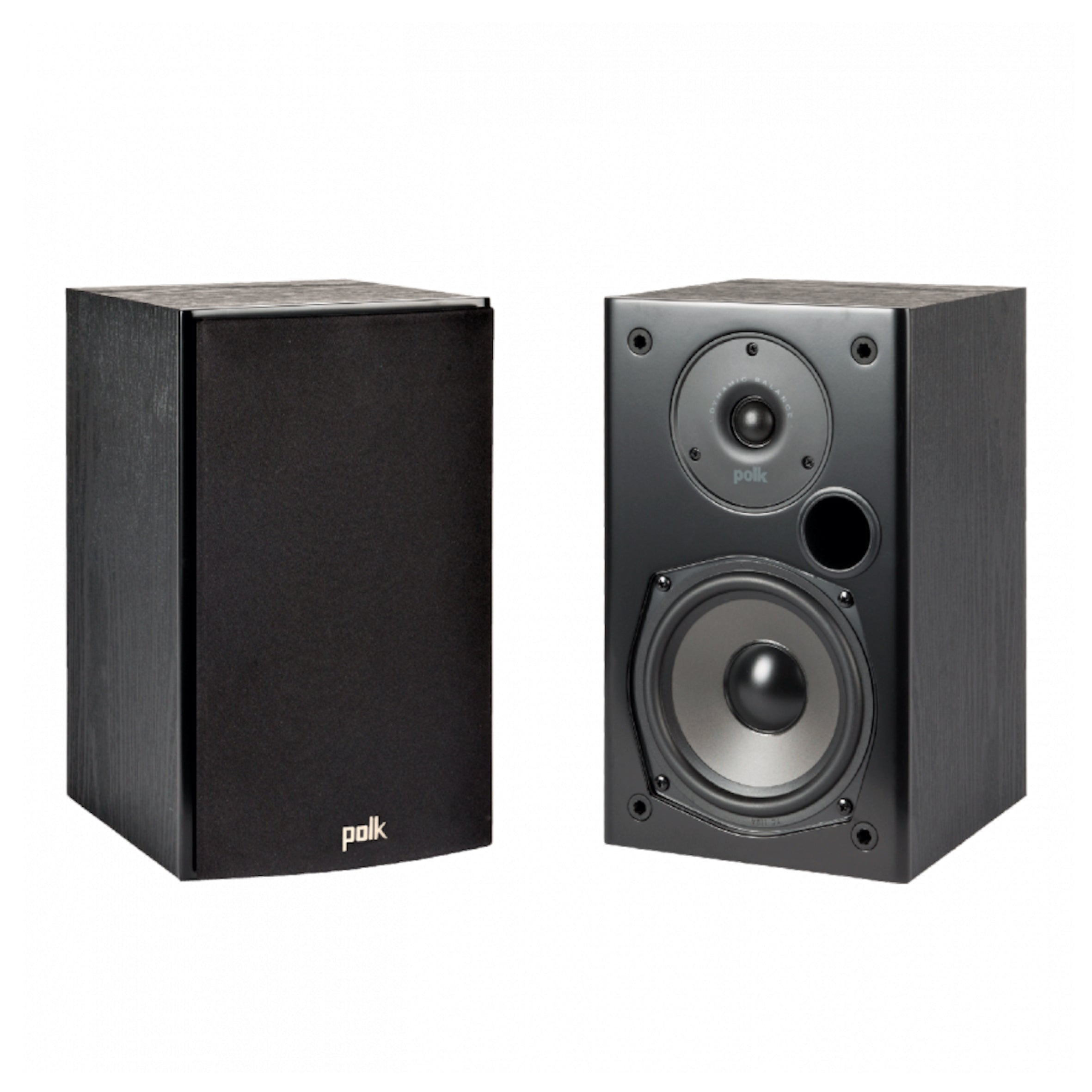 Polk Audio T15 Bookshelf Speakers - Pair, Polk Audio, Bookshelf Speaker - AVStore.in