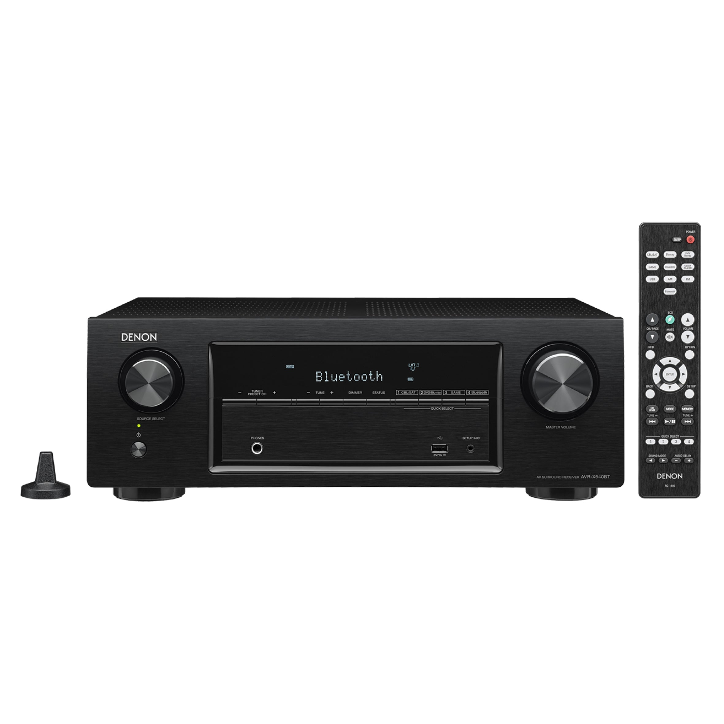 Denon AVR-X540BT - 5.2 Channel AV Receiver - AVStore.in