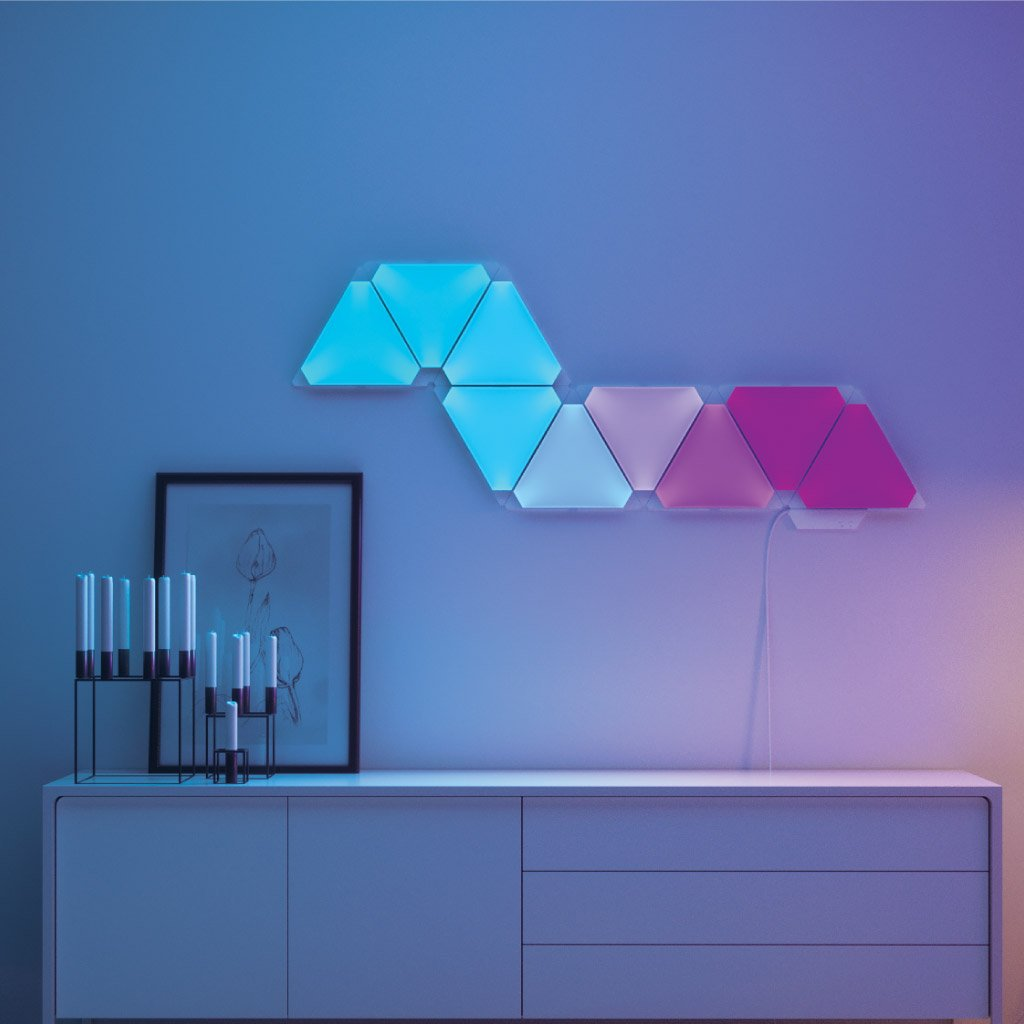 Nanoleaf Aurora - Smarter Kit - Rhythm Edition - 9 Light Panels - AVStore.in