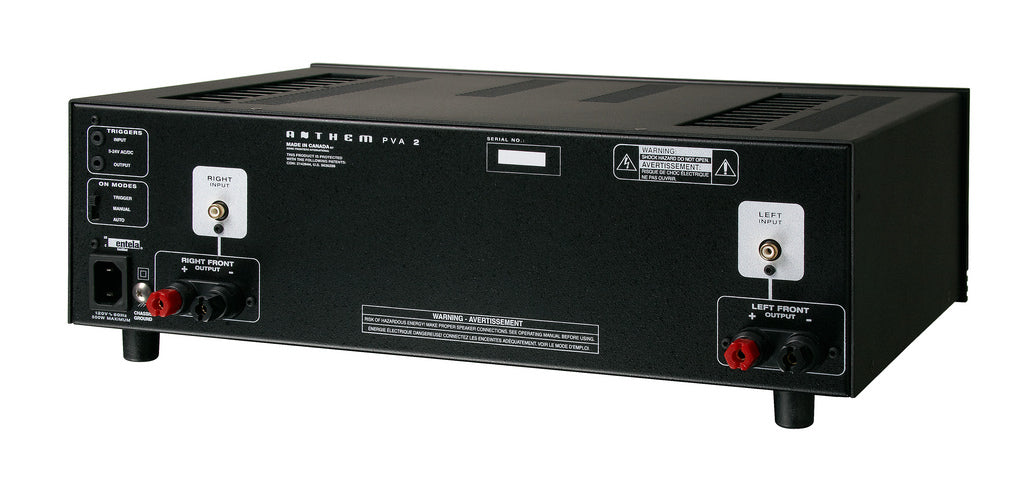 Anthem PVA-2 2 Channel Power Amplifier, Anthem AV, Power Amplifier - AVStore.in