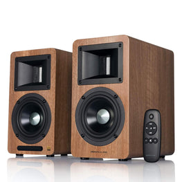 Airpulse A80 - Active Bookshelf Speaker - Pair - AVStore