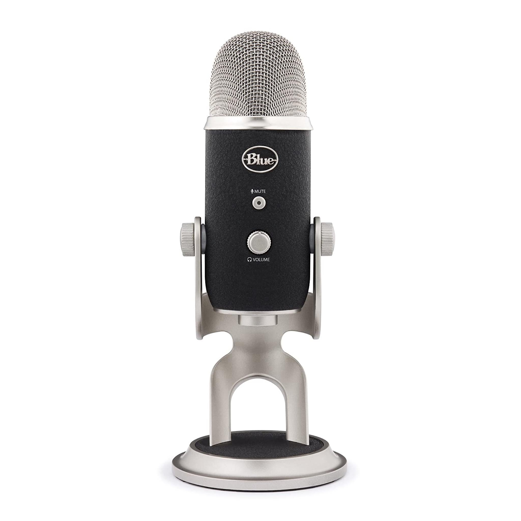 Blue Microphones Yeti Pro - Versatile Ultra-High-Resolution USB and XLR Microphone, Blue, Microphone - AVStore.in