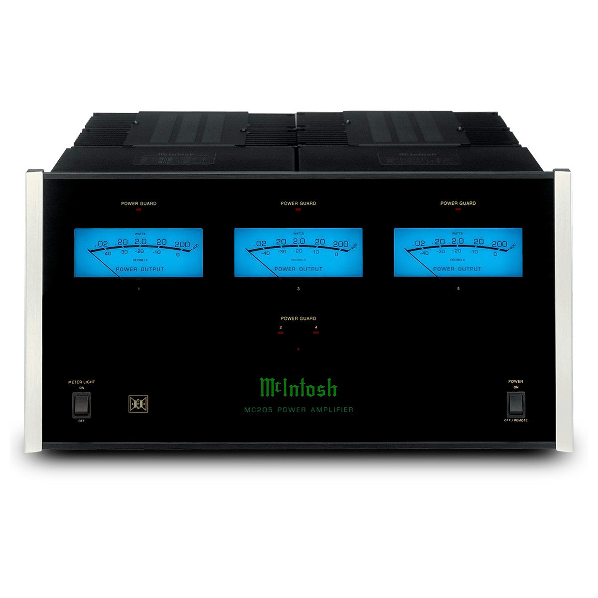 McIntosh Labs MC205 - 5-Channel Solid State Amplifier, McIntosh Labs, Integrated Amplifier - AVStore.in