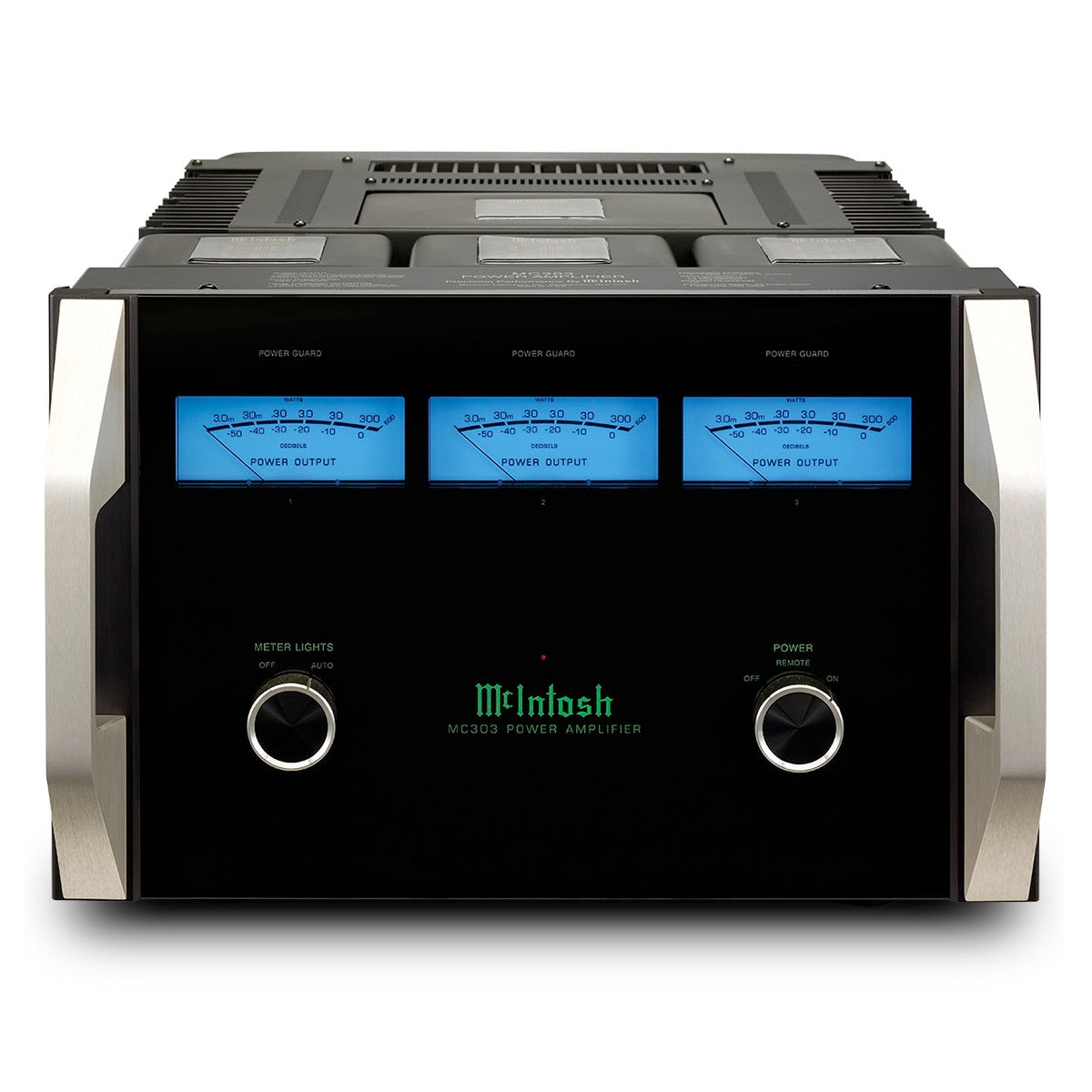 McIntosh Labs MC303 - 3-Channel Solid State Amplifier - AVStore