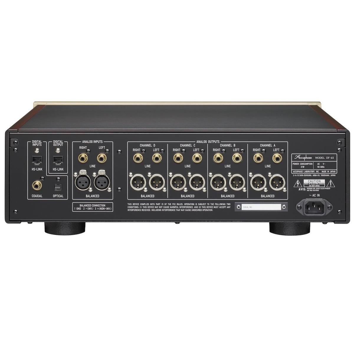 Accuphase DF-65 - Digital Frequency Dividing Network - AVStore.in