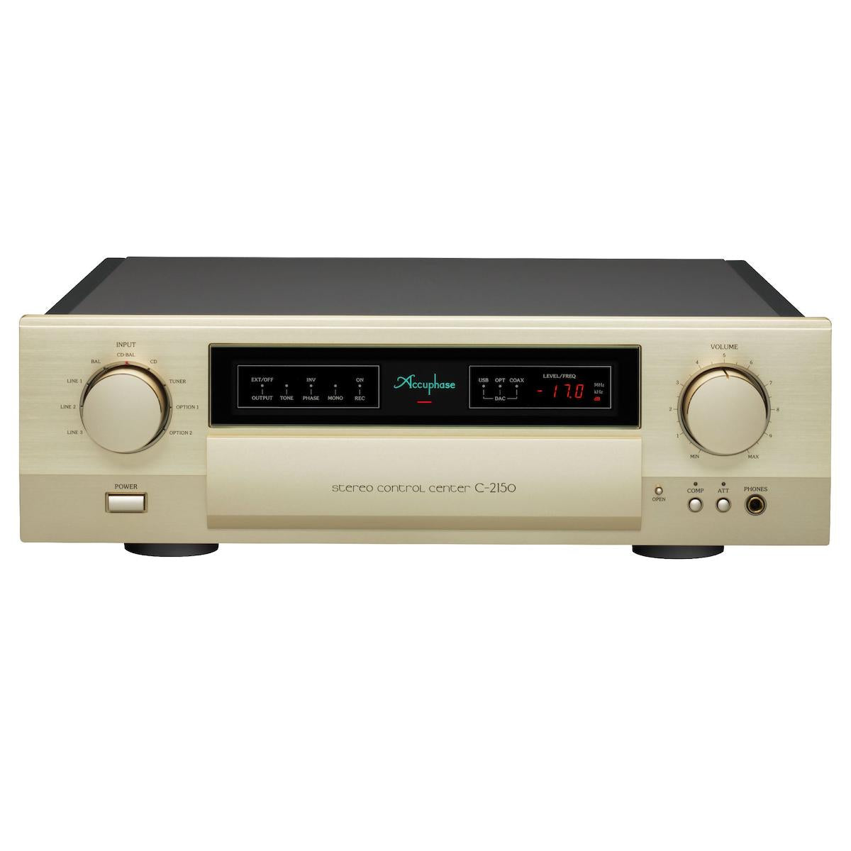 Accuphase C-2150 - Stereo Control Center, Accuphase Laboratory, Inc., Preamplifier - AVStore.in