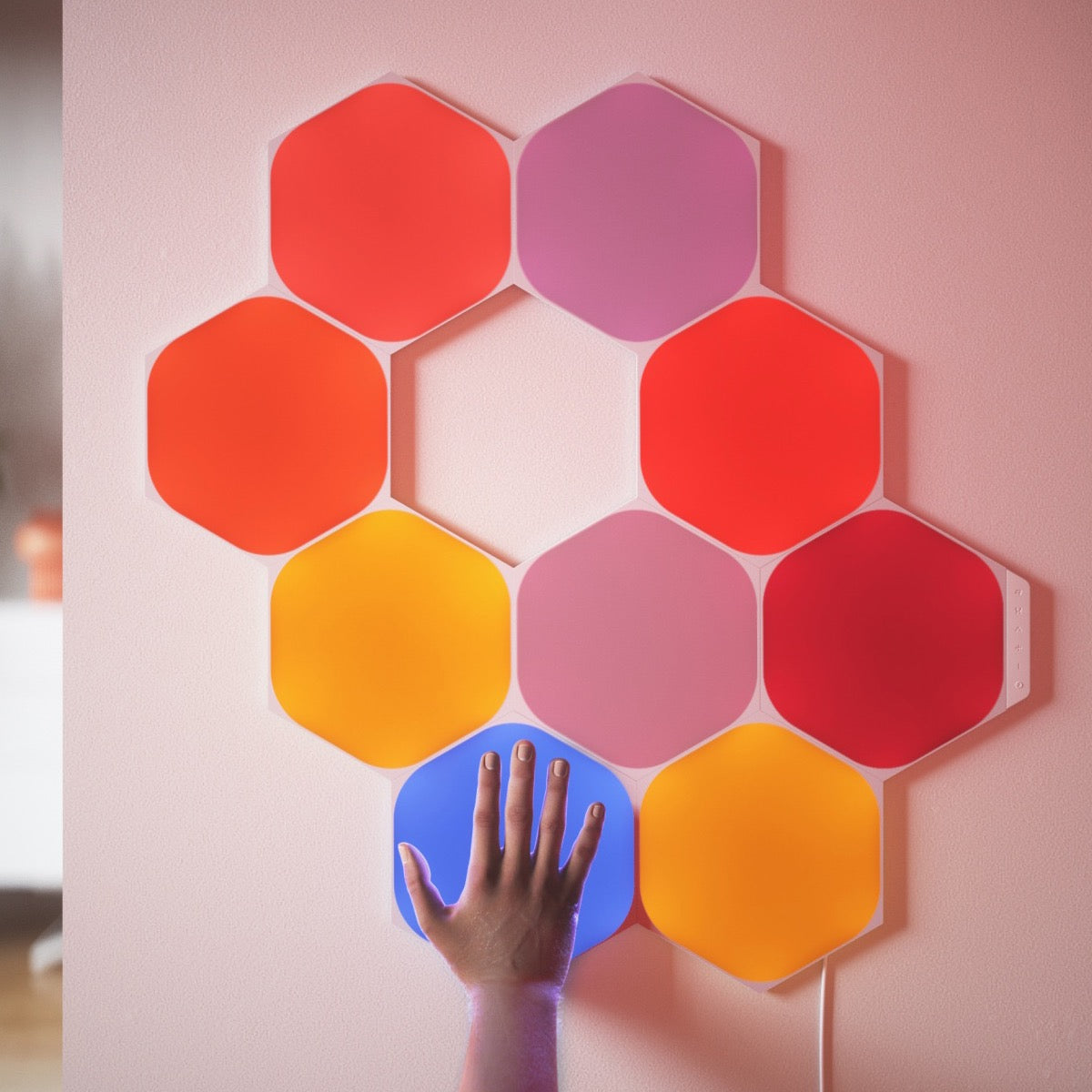 Nanoleaf Shapes Hexagon Starter Kit - 9 Light Panel - AVStore