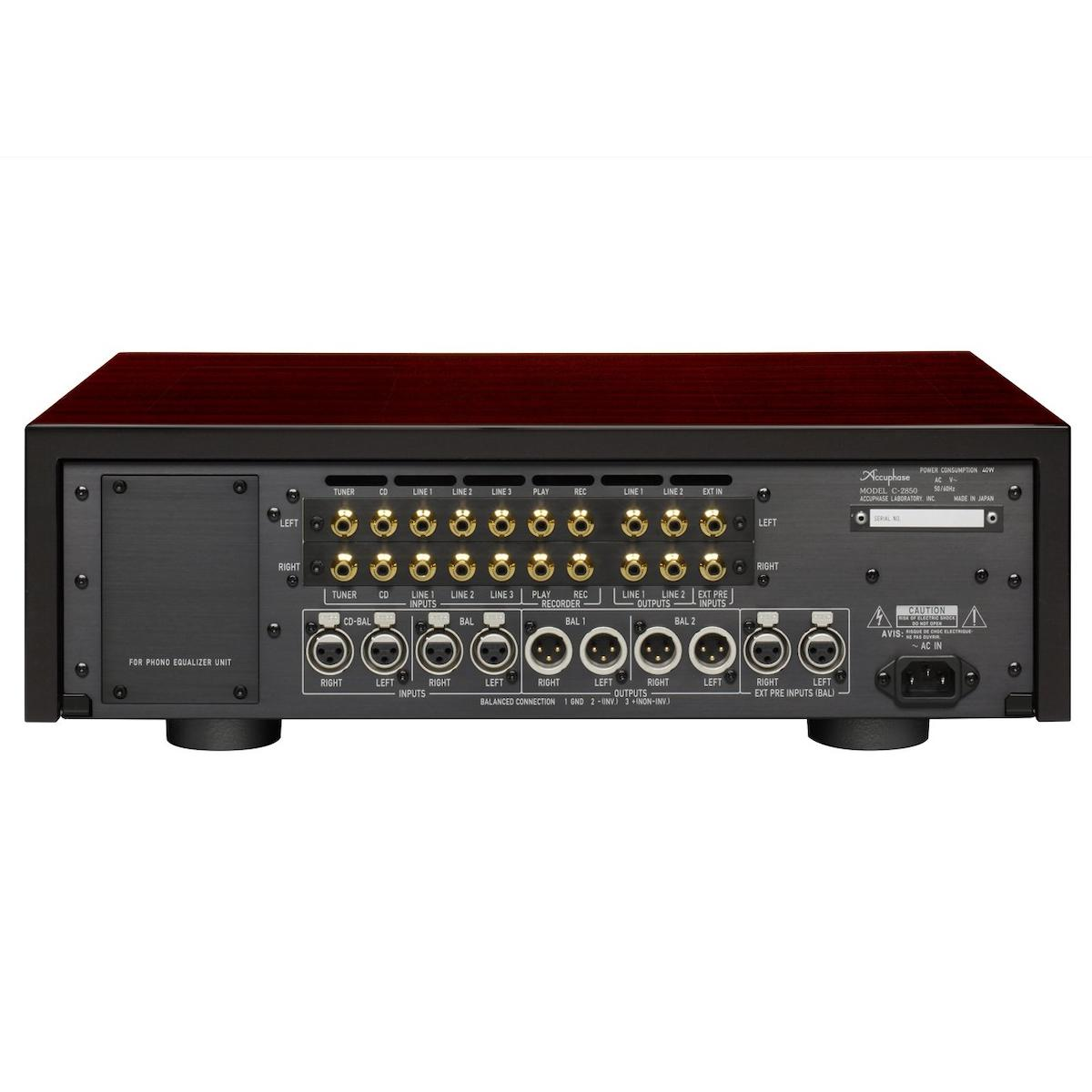 Accuphase C-2850 - Precision Stereo Preamplifier, Accuphase Laboratory, Inc., Preamplifier - AVStore.in