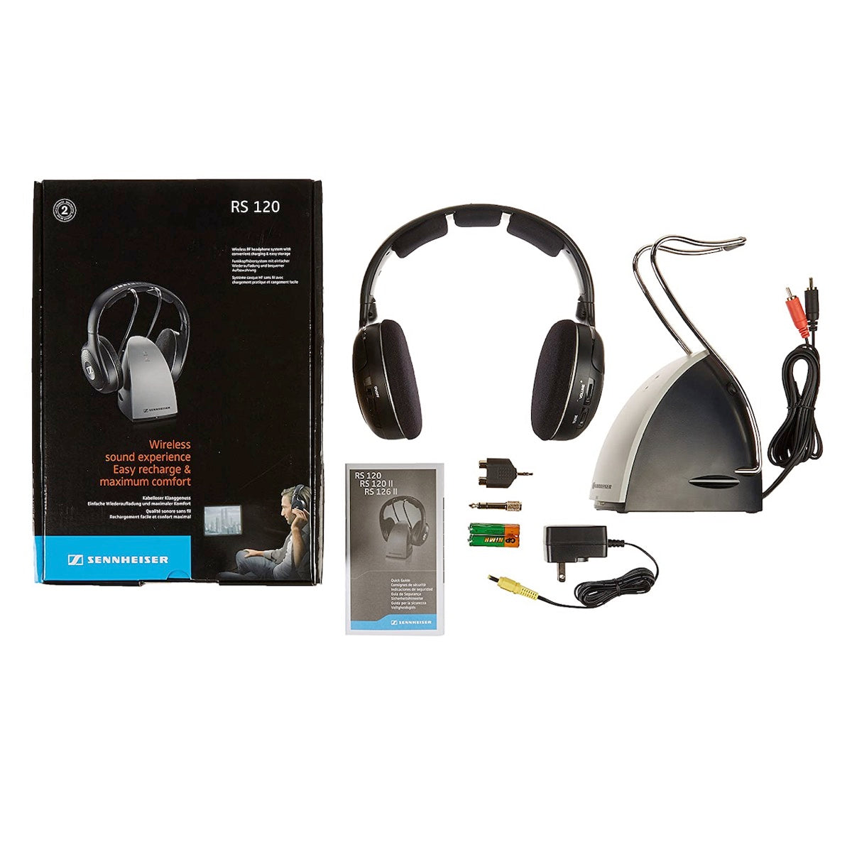 Sennheiser RS 120 II - RF Wireless Headphone, Sennheiser, Wireless Headphones - AVStore.in