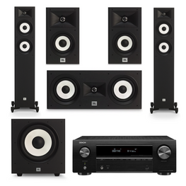 JBL Stage Classic Pack 2 - 5.1 Channel, AVStore, Home Theatre Package - AVStore.in