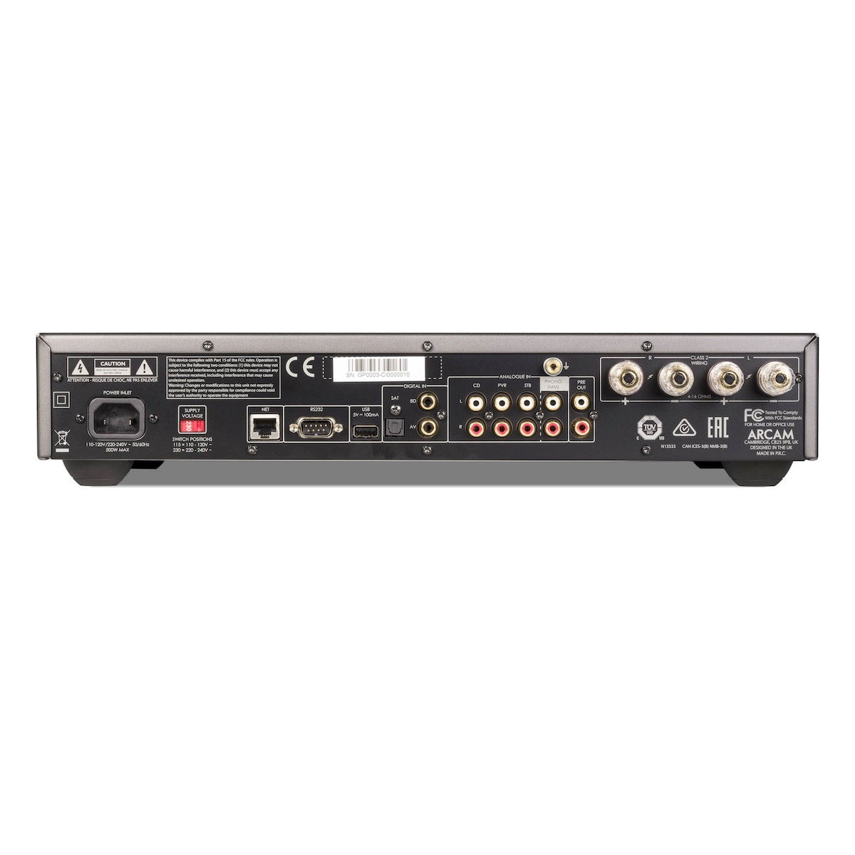 Arcam SA20 - Class G Integrated Amplifier - AVStore.in