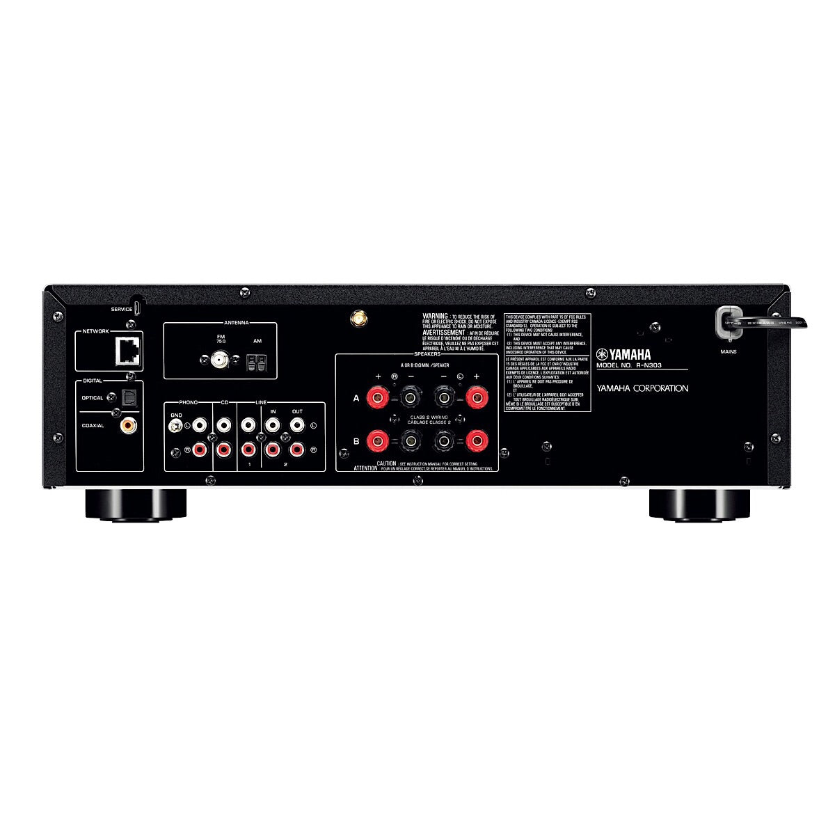 Yamaha R-N303 (Stereo Receiver) - AVStore.in