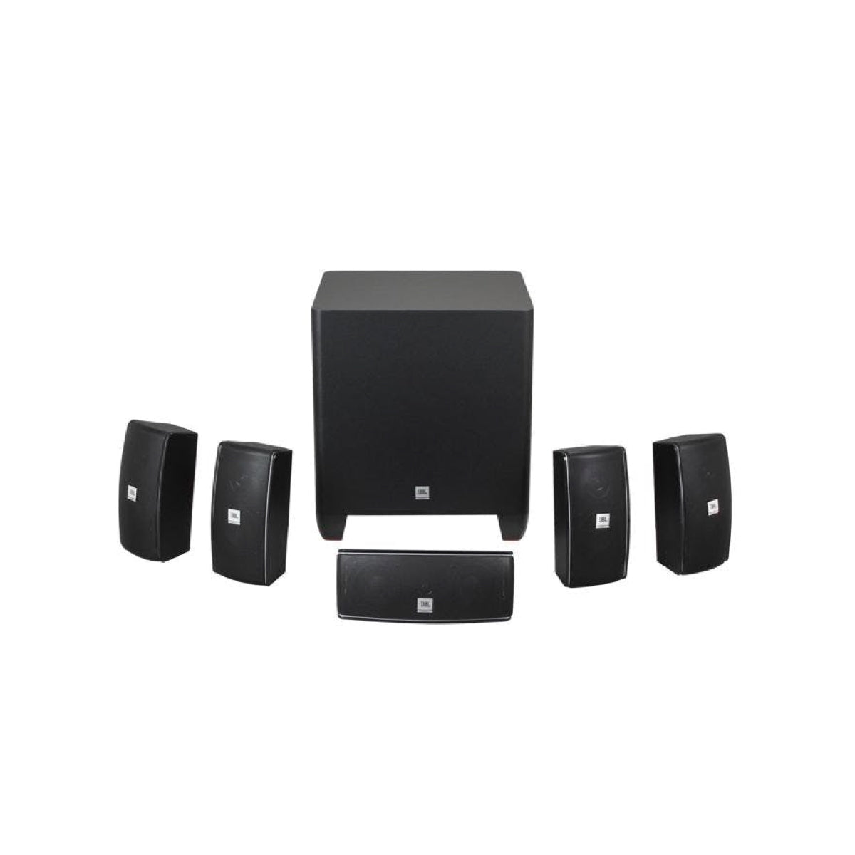 JBL Cinema 610 (5.1 Channel Satellite Speakers), JBL, 5.1 Speaker Package - AVStore.in