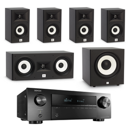 JBL Stage Classic Pack 1 - 5.1 Channel, AVStore, Home Theatre Package - AVStore.in