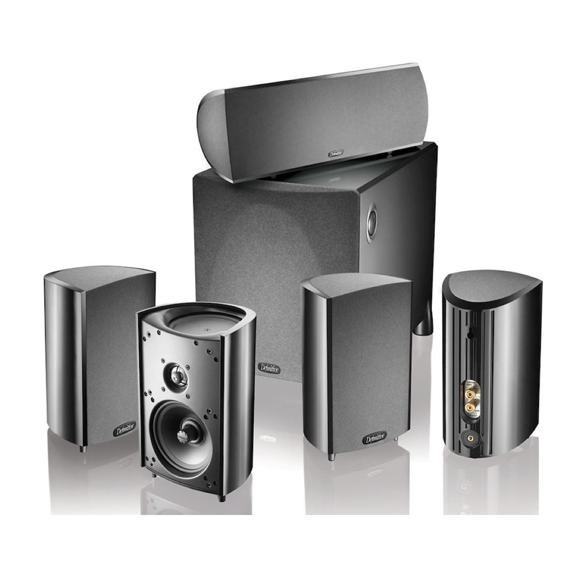 Definitive Technology ProCinema 800 - 5.1 Channel Home Theater Speaker System, Definitive Technology, Home Theatre Package - AVStore.in