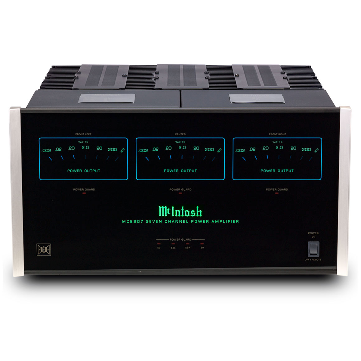 McIntosh Labs MC8207 - 7-Channel Solid State Amplifier, McIntosh Labs, Power Amplifier - AVStore.in