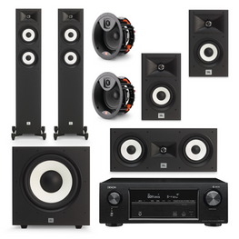 JBL Stage Action Pack 3 - 5.1.2 Channel, AVStore, Home Theatre Package - AVStore.in