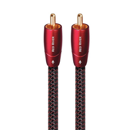 AudioQuest Red River - RCA-RCA Cable - Pair, AudioQuest, RCA-RCA Cable - AVStore.in