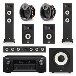 JBL Stage Action Pack 4 - 5.1.2 Channel, AVStore, Home Theatre Package - AVStore.in