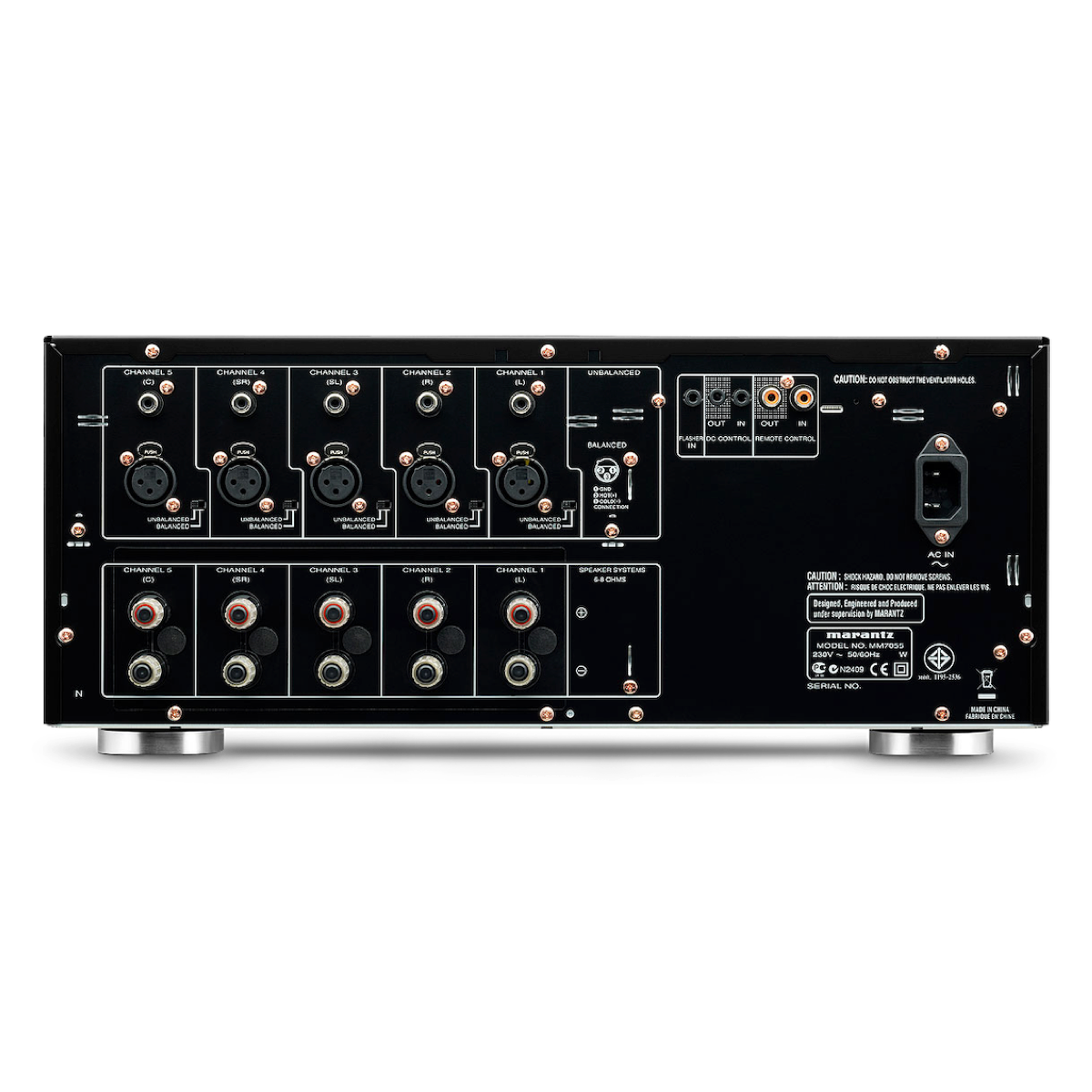 Marantz MM7055 - 5 Channel Power Amplifier - AVStore