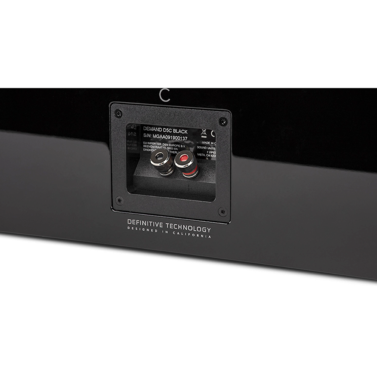 Definitive Technology Demand Series D5C - Center Channel Speaker - AVStore.in