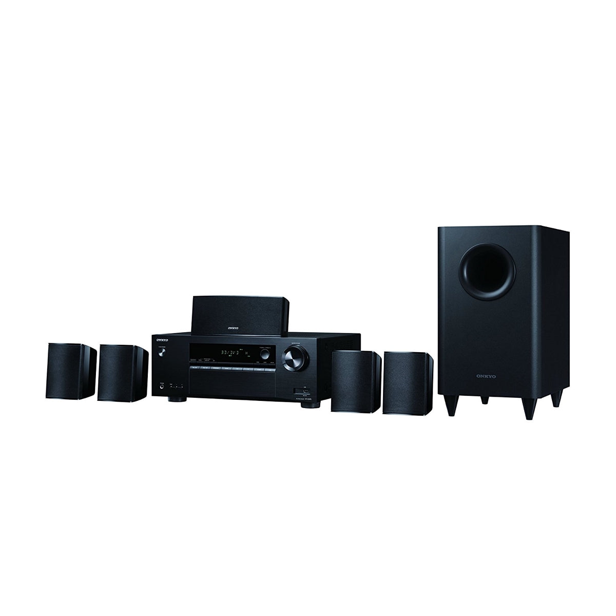 Onkyo HTS-3800 - 5.1 Channel Home Theatre System, Onkyo, Home Theatre in a box - AVStore.in
