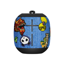 Ultimate Ears Wonderboom Portable Bluetooth Speaker Freestyle Patches